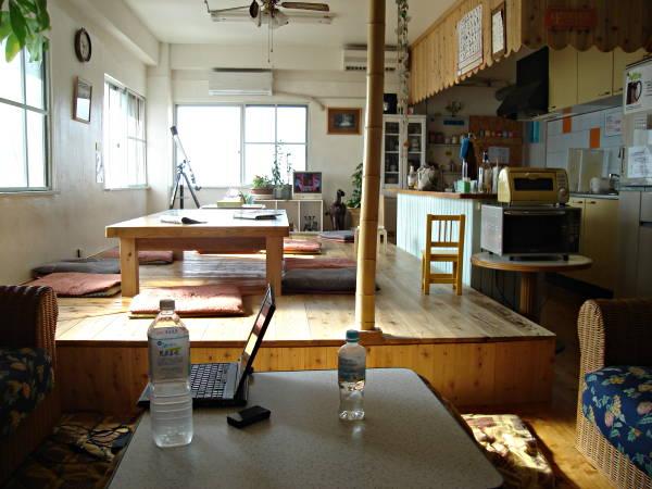 Japanese Hostel Kitchen