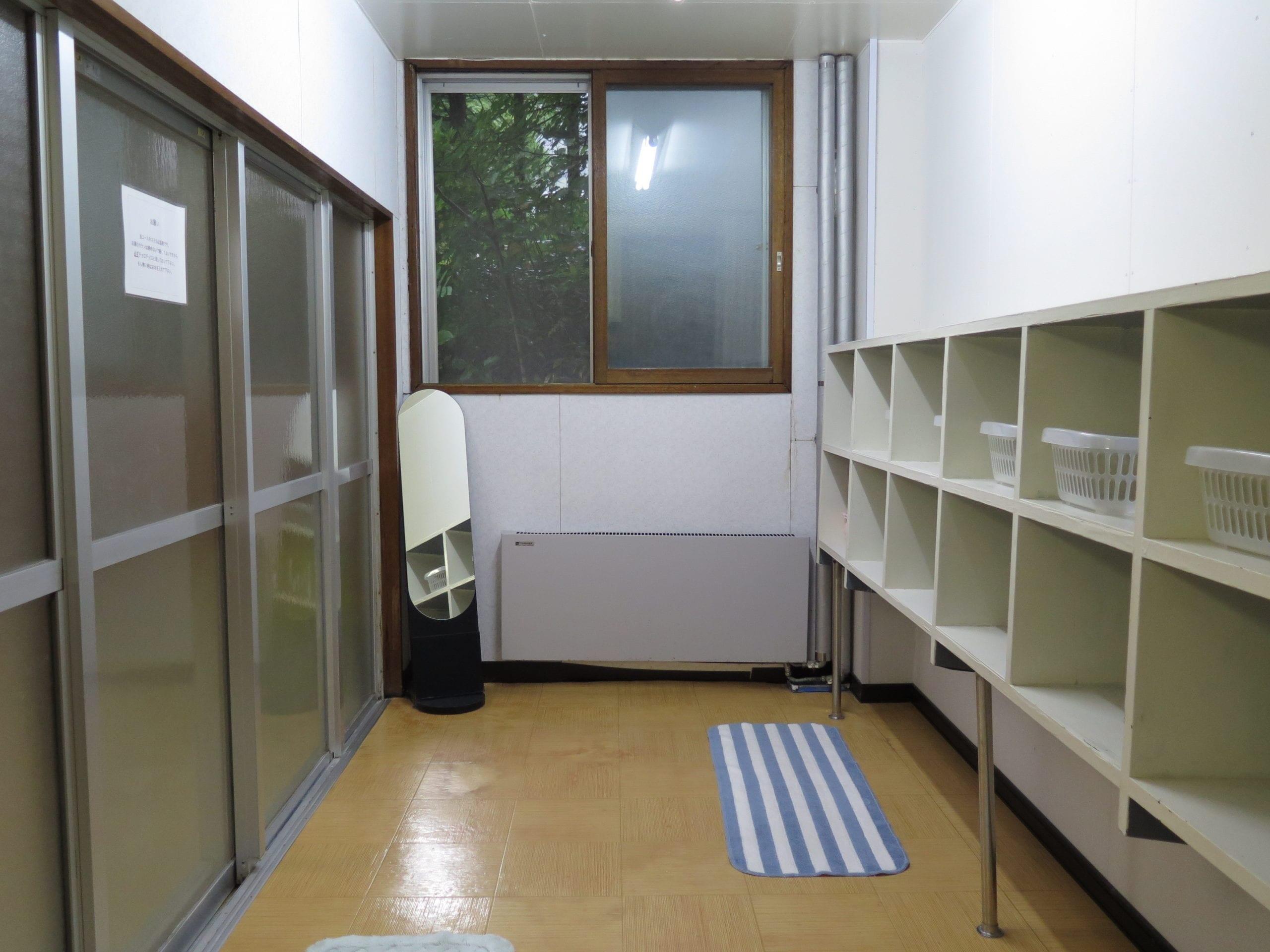 How a typical Japanese share house bathroom looks